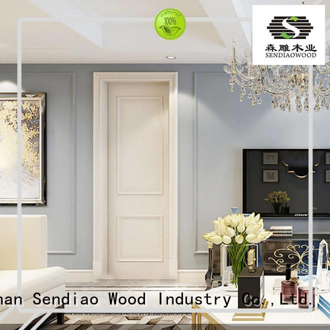 Sendiao Furniture wooden solid interior doors The latest generation Four Star Hotel