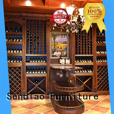 Sendiao Furniture Simplicity bespoke wine cabinet for business study