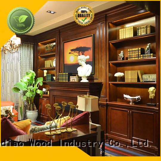 Latest decorative wooden cabinet full company study