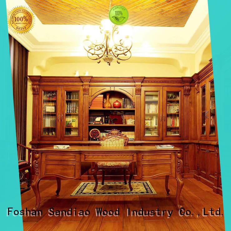 Simplicity bespoke bookshelves super factory study