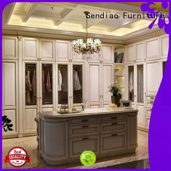 sdw02 wood wardrobe cabinet classical Chateau