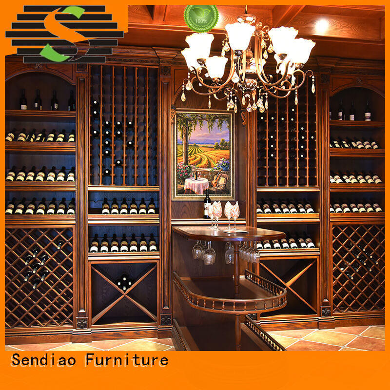 New products bespoke wine cabinet American style Four Star Hotel