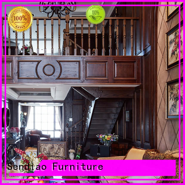 Sendiao Furniture stairs wooden staircases supply bedroom