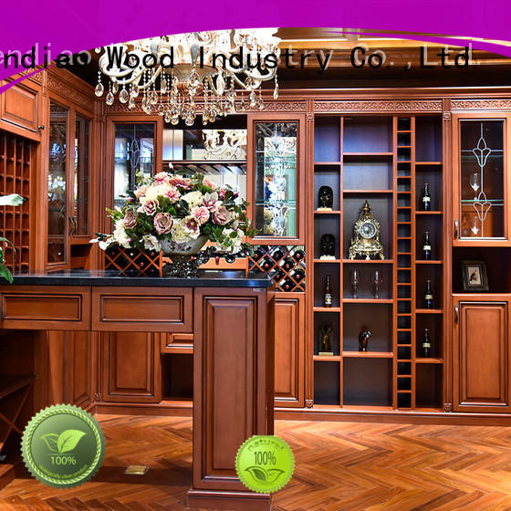 Sendiao Furniture cabinet solid wood wine cabinet factory chateau