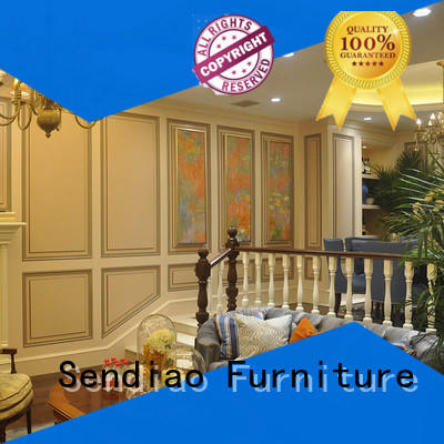 Sendiao Furniture High-quality bespoke wooden staircases Suppliers three-star hotel