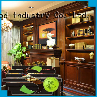 Top decorative wooden cabinet wall company a living room