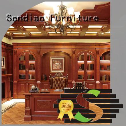 Sendiao Furniture cabinet book cabinet elegance Study
