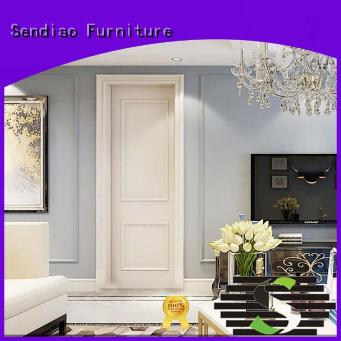 fashion inside doors solid door Sendiao Furniture Brand