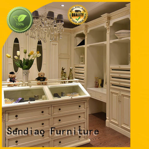 Sendiao Furniture modular solid wood wardrobes company chateau