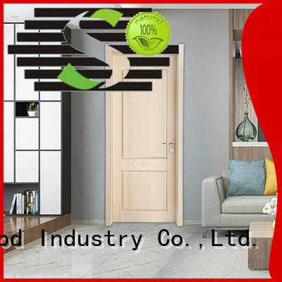 The latest generation solid wood interior doors American style A living room