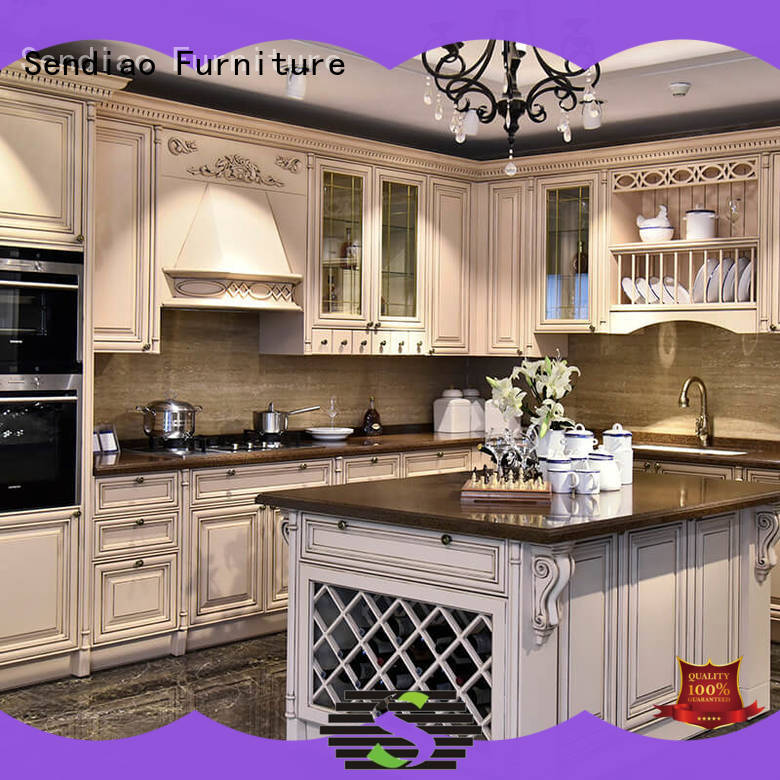 Sendiao Furniture New hardwood kitchen cabinets Suppliers study