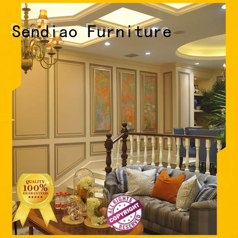 Sendiao Furniture staircase wooden staircase manufacturers study