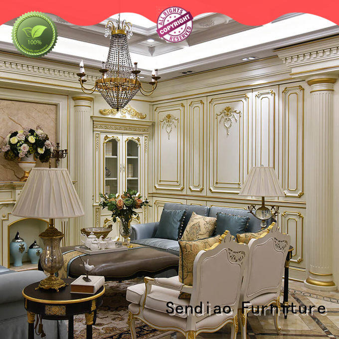 Sendiao Furniture Latest wood panelling for walls interior manufacturers chateau