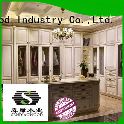 wooden wardrobe luxury Fivestar Hotel Sendiao Furniture