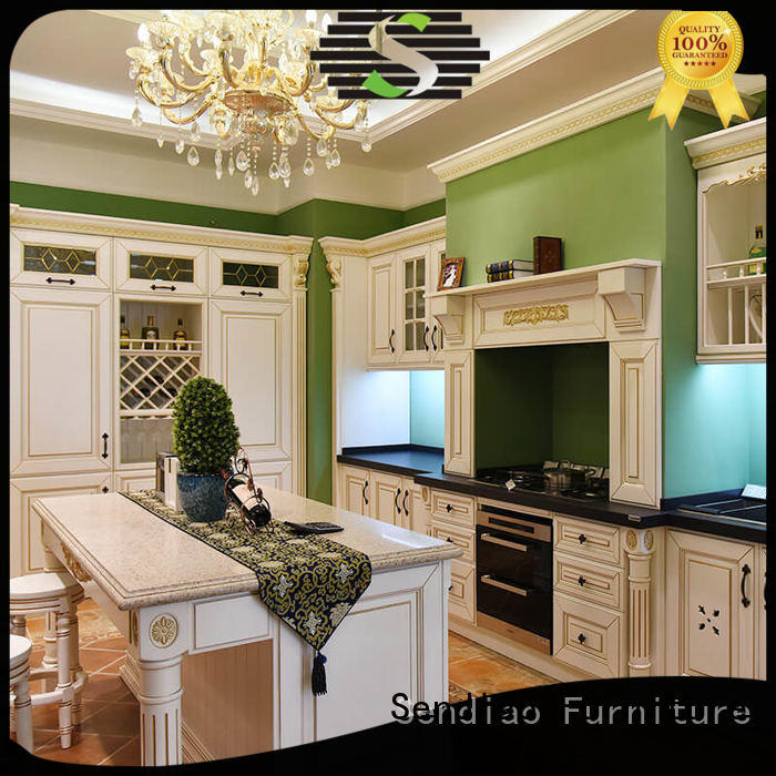 Sendiao Furniture furniture hardwood kitchen cabinets supply bedroom