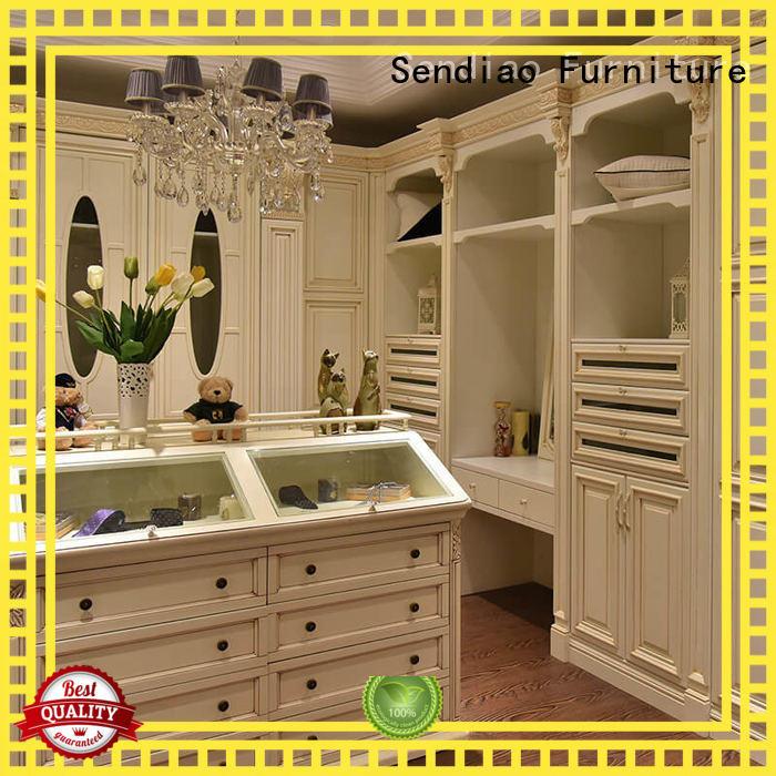 Sendiao Furniture sdw01 solid wood wardrobes Simplicity Study