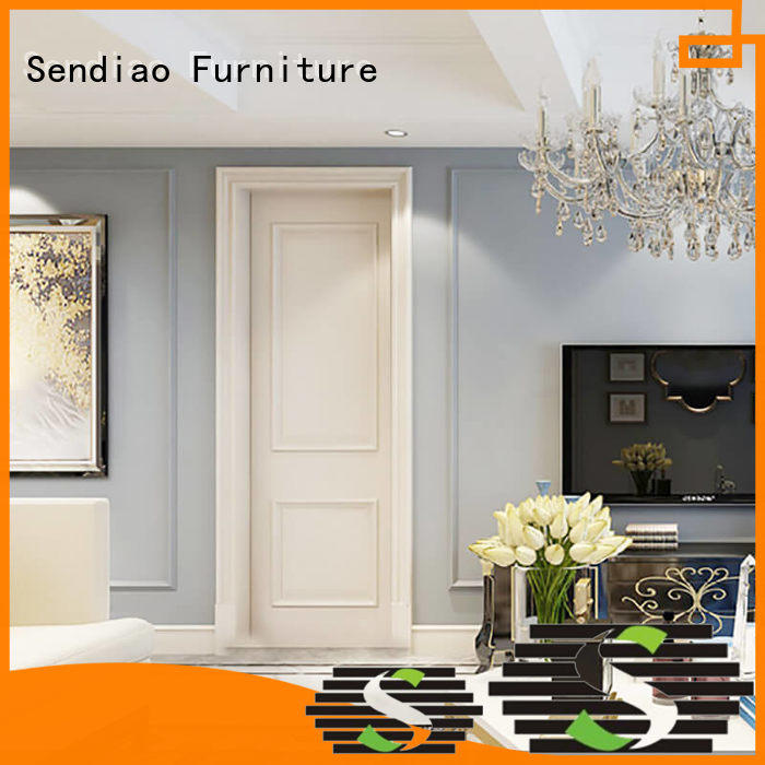 High-quality interior wood doors fashion for business chateau