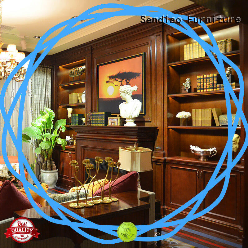 solid decorative cabinet elegance Exhibition hall Sendiao Furniture