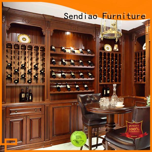 oak bespoke wine cabinet American style Fivestar Hotel