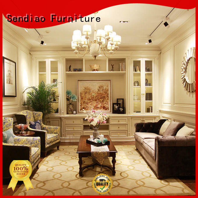 Sendiao Furniture Promotion decorative wall cabinet suppliers fivestar hotel
