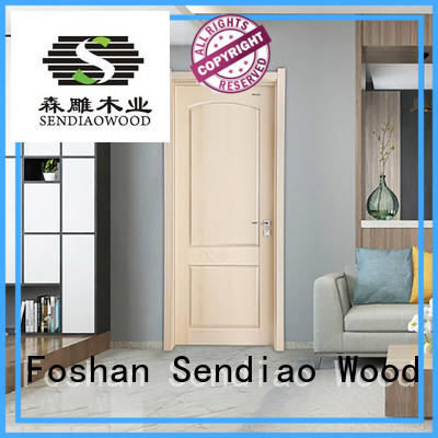 sdr06 solid interior doors wooden Three-star Hotel Sendiao Furniture