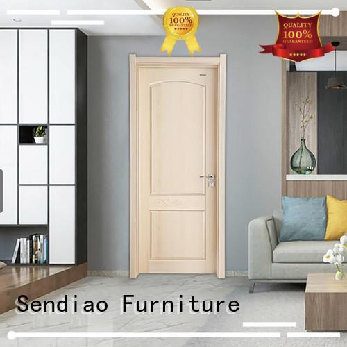 door internal wooden doors American style Four Star Hotel Sendiao Furniture