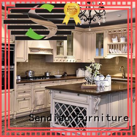 sdk06 luxury kitchen cabinets design Fivestar Hotel Sendiao Furniture