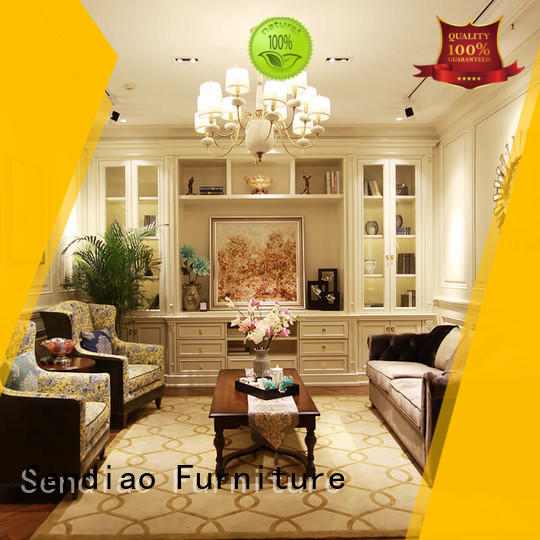 Sendiao Furniture American style decorative storage cabinets factory study