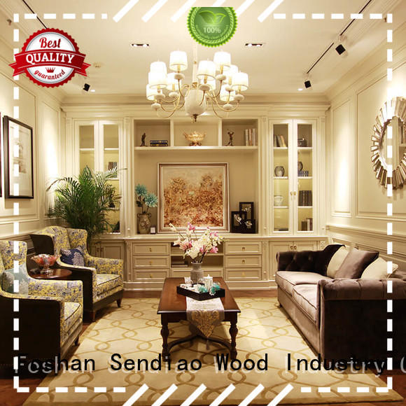 modern decorative cabinet tv Exhibition hall Sendiao Furniture