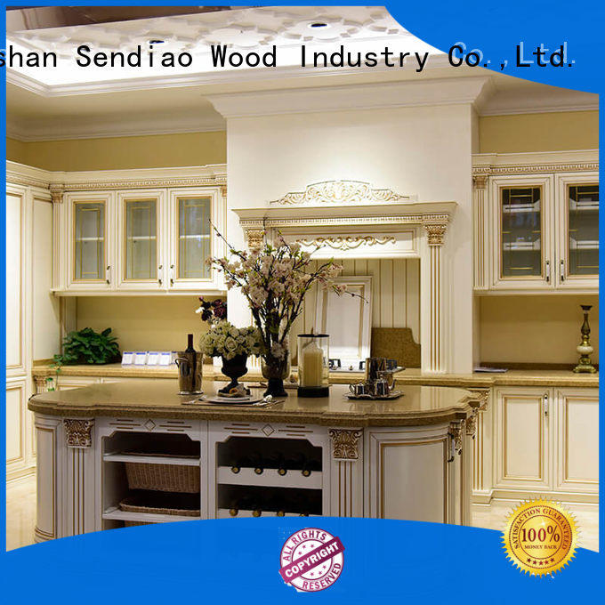 Latest contemporary kitchen cabinets sdk09 factory a living room