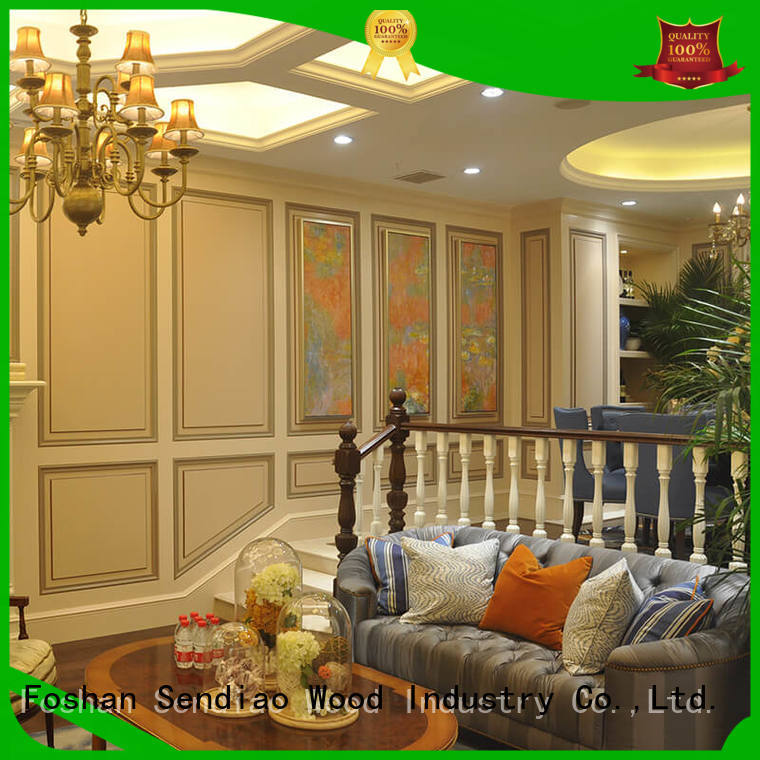 Sendiao Furniture New products wooden spiral staircase New products A living room
