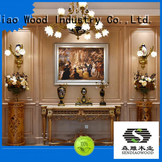 Sendiao Furniture sdd02 decorative wall molding panels low price A living room