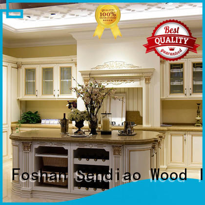 Sendiao Furniture New products laminate kitchen cabinets Simplicity Four Star Hotel
