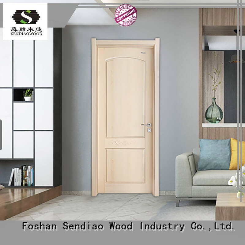 Sendiao Furniture American style solid wood interior doors sdr06 Study