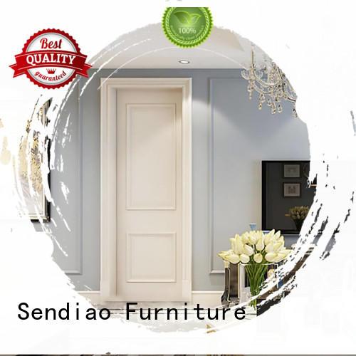 interior wood doors wooden Exhibition hall Sendiao Furniture