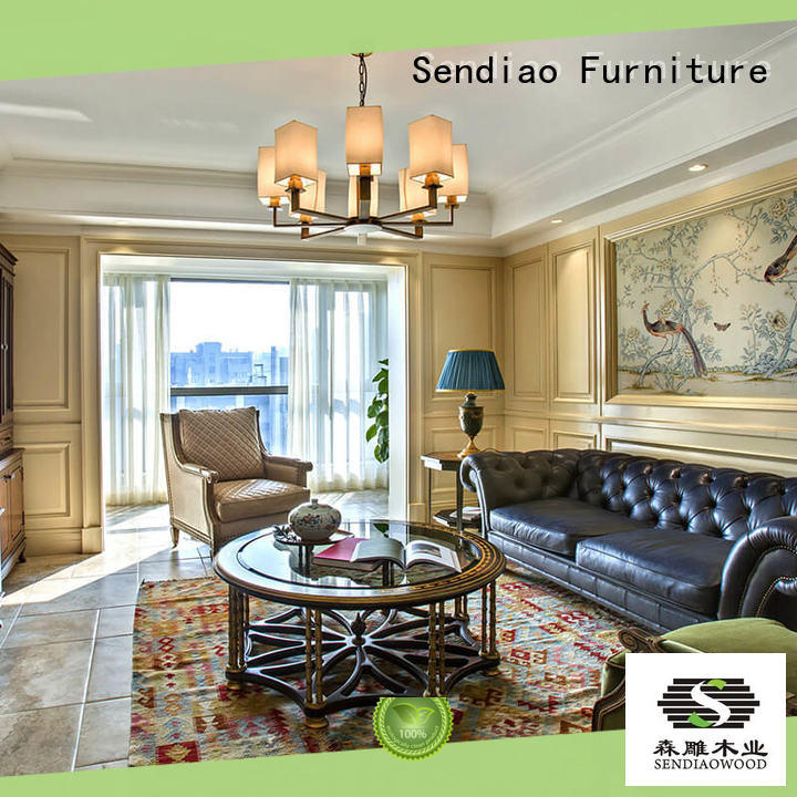 sdd03 internal wood panelling Promotion Exhibition hall Sendiao Furniture