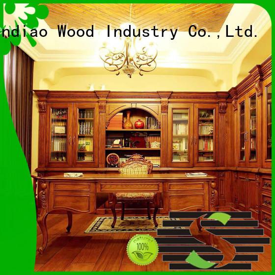 Sendiao Furniture Best solid wood bookcases manufacturers exhibition hall