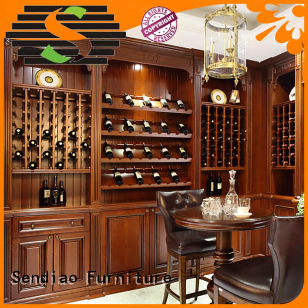 Sendiao Furniture sdwi04 bespoke wine cabinet New products A living room