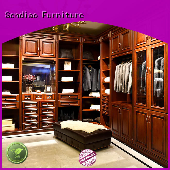 High-quality wood wardrobe cabinet wardrobe for business a living room