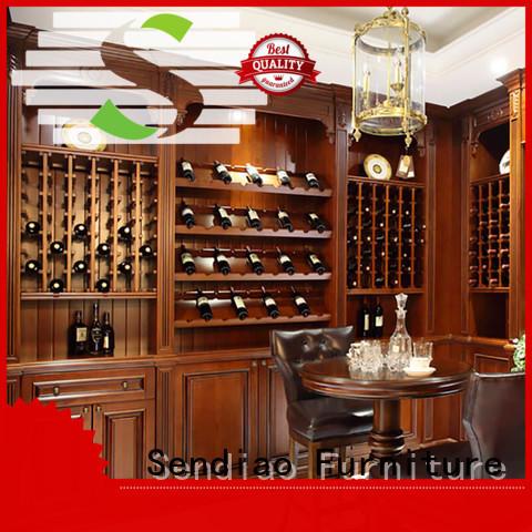 Sendiao Furniture cabinet bespoke wine cabinet Supply a living room