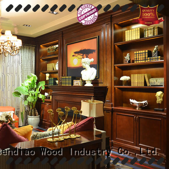 American style decorative wall cabinets with doors low price Exhibition hall