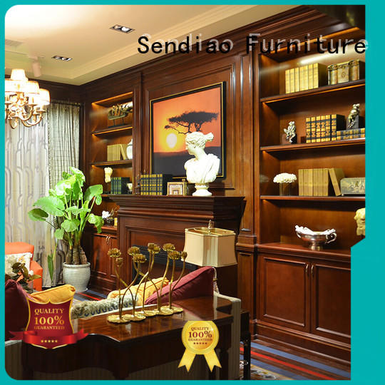 Sendiao Furniture simple decorative wall cabinet low price Three-star Hotel