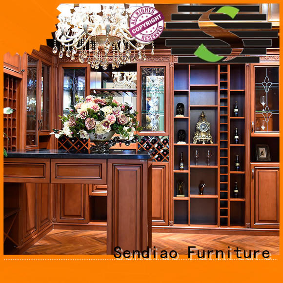 Sendiao Furniture New products wooden wine storage cabinets sdwi01 Bedroom