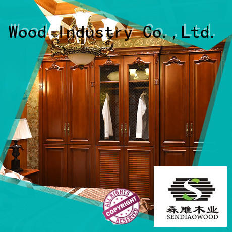 Sendiao Furniture New products wood furniture wardrobe Promotion Fivestar Hotel
