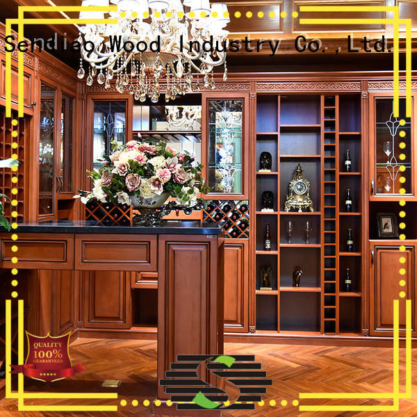 High-quality bespoke wine cabinet solid company a living room