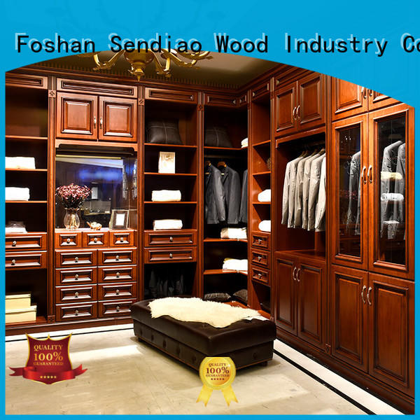 furniture wooden cupboard for clothes The latest generation Study Sendiao Furniture