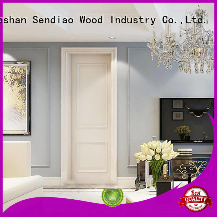Sendiao Furniture New products solid wood interior doors New products Exhibition hall