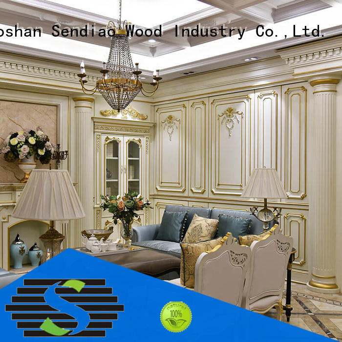 Sendiao Furniture fixing wood panelling for walls interior elegance Three-star Hotel
