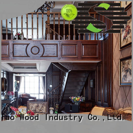 bespoke wooden staircases staircase Fivestar Hotel Sendiao Furniture
