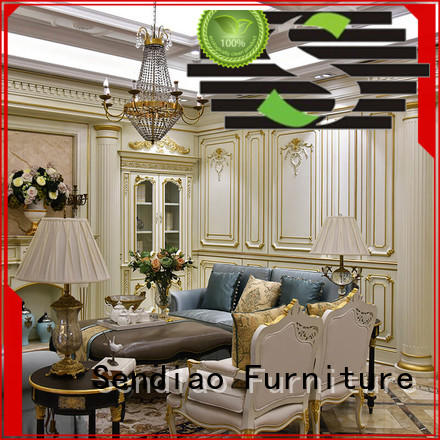 Sendiao Furniture fixing decorative wood molding for walls The latest generation A living room